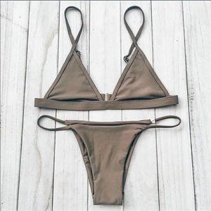 Sunset Romance Bikini Top